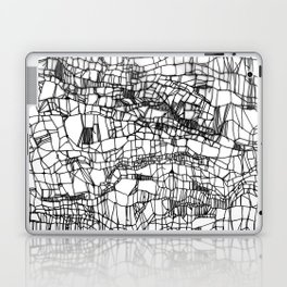 deconstructed knit Laptop & iPad Skin