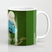 breaking Mugs featuring Breaking Bad  by gazonula