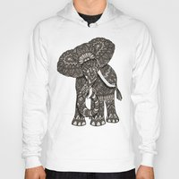 ornate Hoodies featuring Ornate Elephant by ArtLovePassion