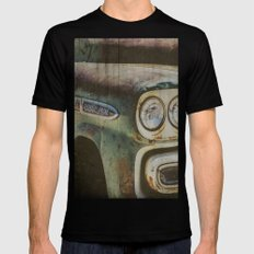 Chevy Apache X-LARGE Black Mens Fitted Tee