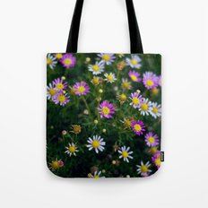 little pink flowers. Tote Bag