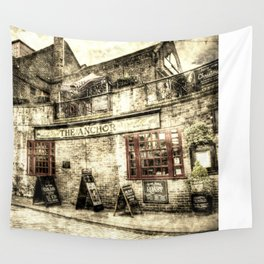 The Anchor Pub London Vintage Wall Tapestry
