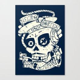 Necro Nautical Nonsense  Canvas Print