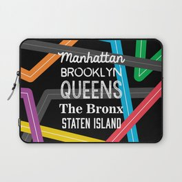 NY Metro Subway Laptop Sleeve