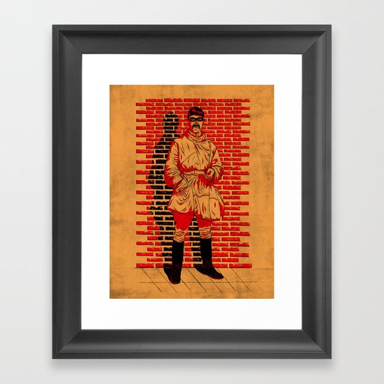 Five minute break!  Framed Art Print