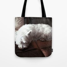 Dog Tired Tote Bag