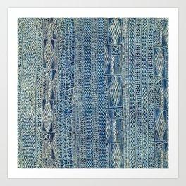 Ndop Cameroon West African Textile Print Art Print
