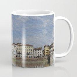 WATERCOLOR FLORENCE Coffee Mug