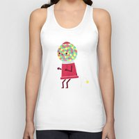 threadless Tank Tops featuring When You Gotta Go by Teo Zirinis