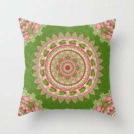 Spirit of the Frog Throw Pillow