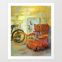 32 Darrow Road. Art Print