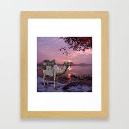 Kasbah Kamel Framed Art Print