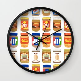Peanut Butter Dream Wall Clock