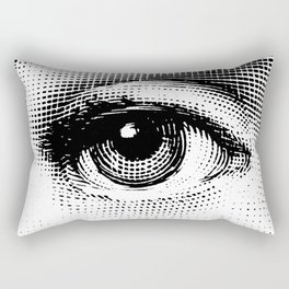 Lina Cavalieri - right eye Rectangular Pillow