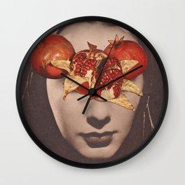 Persephone's Dream Wall Clock
