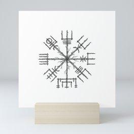 Vegvisir Mini Art Print