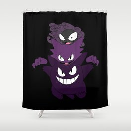 Gastly Evo Shower Curtain