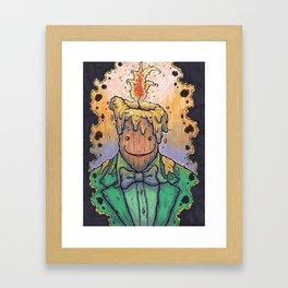 Immolation Framed Art Print