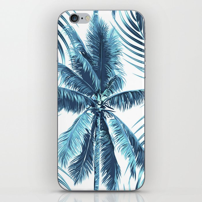 South Pacific palms II - oceanic iPhone Skin