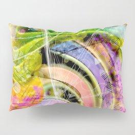 QUARK EXPRESS ABSTRACT Pillow Sham