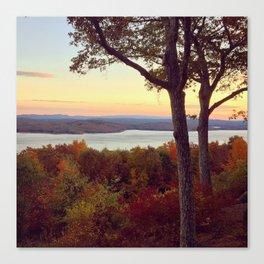 Hudson River Autumn Canvas Print
