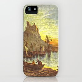 Picturesque England, Holy Island iPhone Case