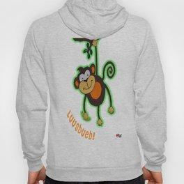 Cheeky Monkey Hoody