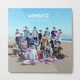 The Wombats Proudly Present... This Modern Glitch Metal Print