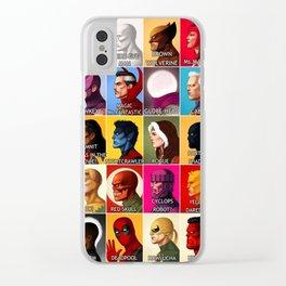 Comics Clear iPhone Case