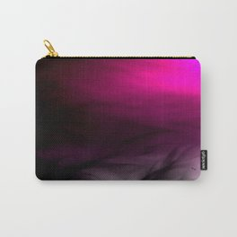 Pink Flames Pink to Black Gradient Carry-All Pouch