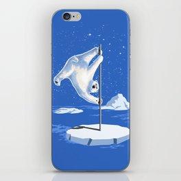 North Pole Dancer iPhone Skin