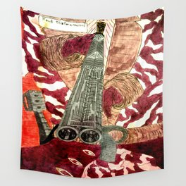 Silver Plated Wall Tapestry