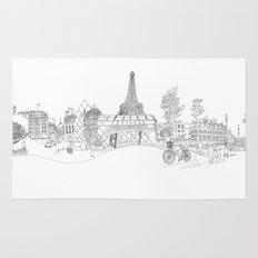 Paris! Version#1 Rug