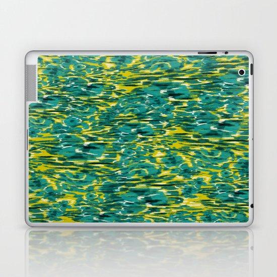 Ikat Floral Laptop & iPad Skin