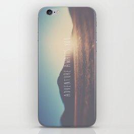 adventure awaits you ... iPhone Skin