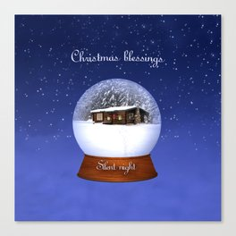 Christmas Blessings Canvas Print