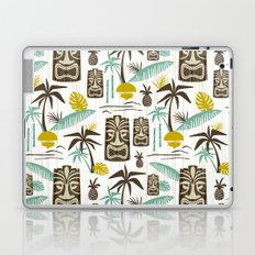Island Tiki - White Laptop & iPad Skin