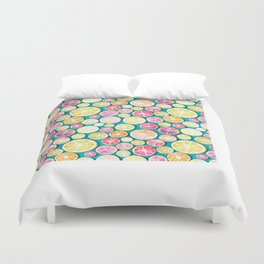 Citrus bath Duvet Cover