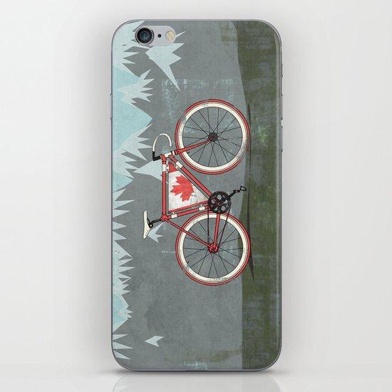 Love Bike, Love Canada iPhone & iPod Skin
