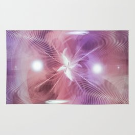 """""""Magnified Abstraction: Remixed"""" Rug"""