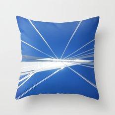 White Suspension Throw Pillow