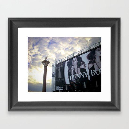 St Mark's Square, Venice Framed Art Print
