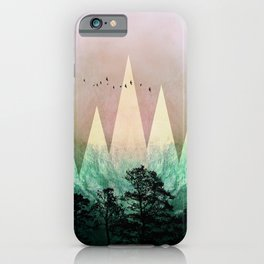 TREES under MAGIC MOUNTAINS IV iPhone Case