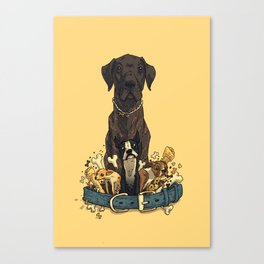 Dogs1 Canvas Print
