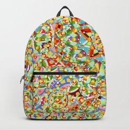 Rainbow Candy Trinkets Backpack