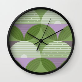 Green Fields  Wall Clock