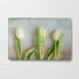 Tulips - JUSTART © Metal Print