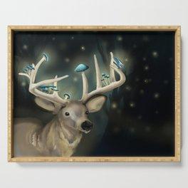 Shroom Deer Serving Tray