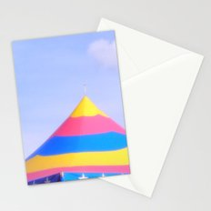 Circus tent Stationery Cards