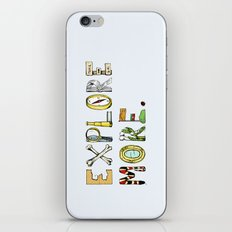 Explore More. iPhone & iPod Skin